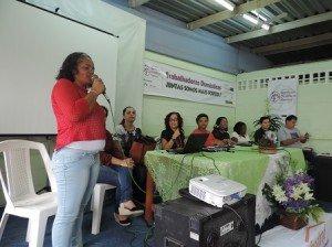 Trabalhadoras domésticas do nordeste se reúnem em Campina Grande