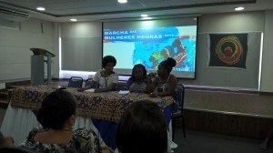 Creuza participa de seminário preparatório para a Marcha das Mulheres Negras
