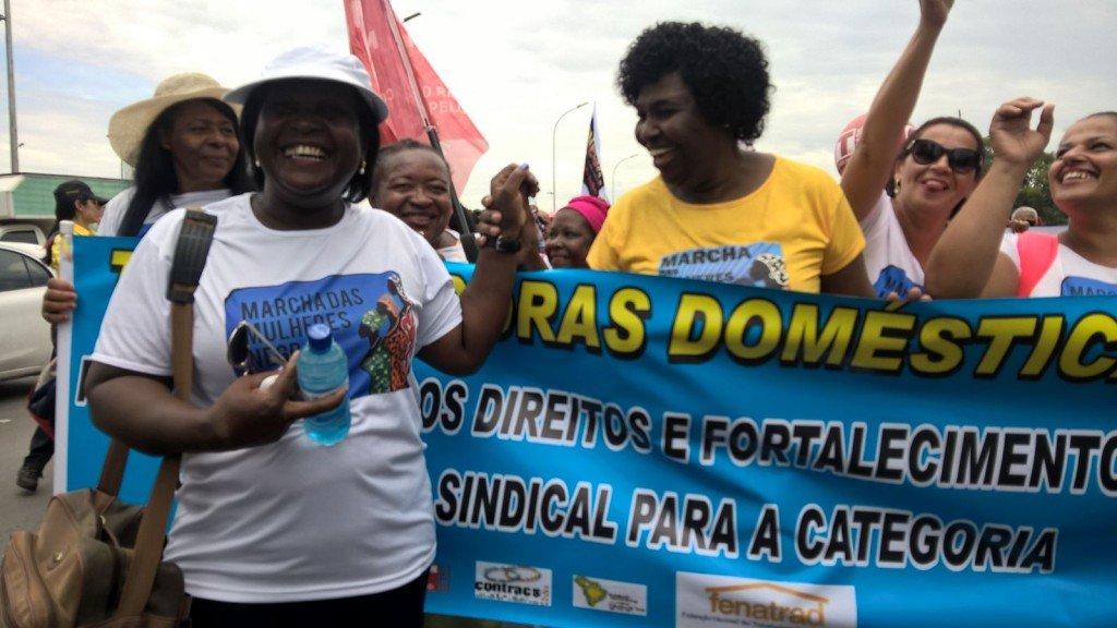Marcha das Mulheres Negras: Brasília se encheu de cor