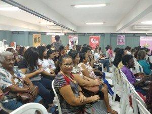 Diretoria da FENATRAD participa da Campanha dos 16 Dias de Ativismo-Campanha combate a violência contra a mulher