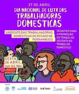 """FENATRAD realiza evento """"Desafios para a Promoção do Trabalho Decente no Trabalho Doméstico"""""""