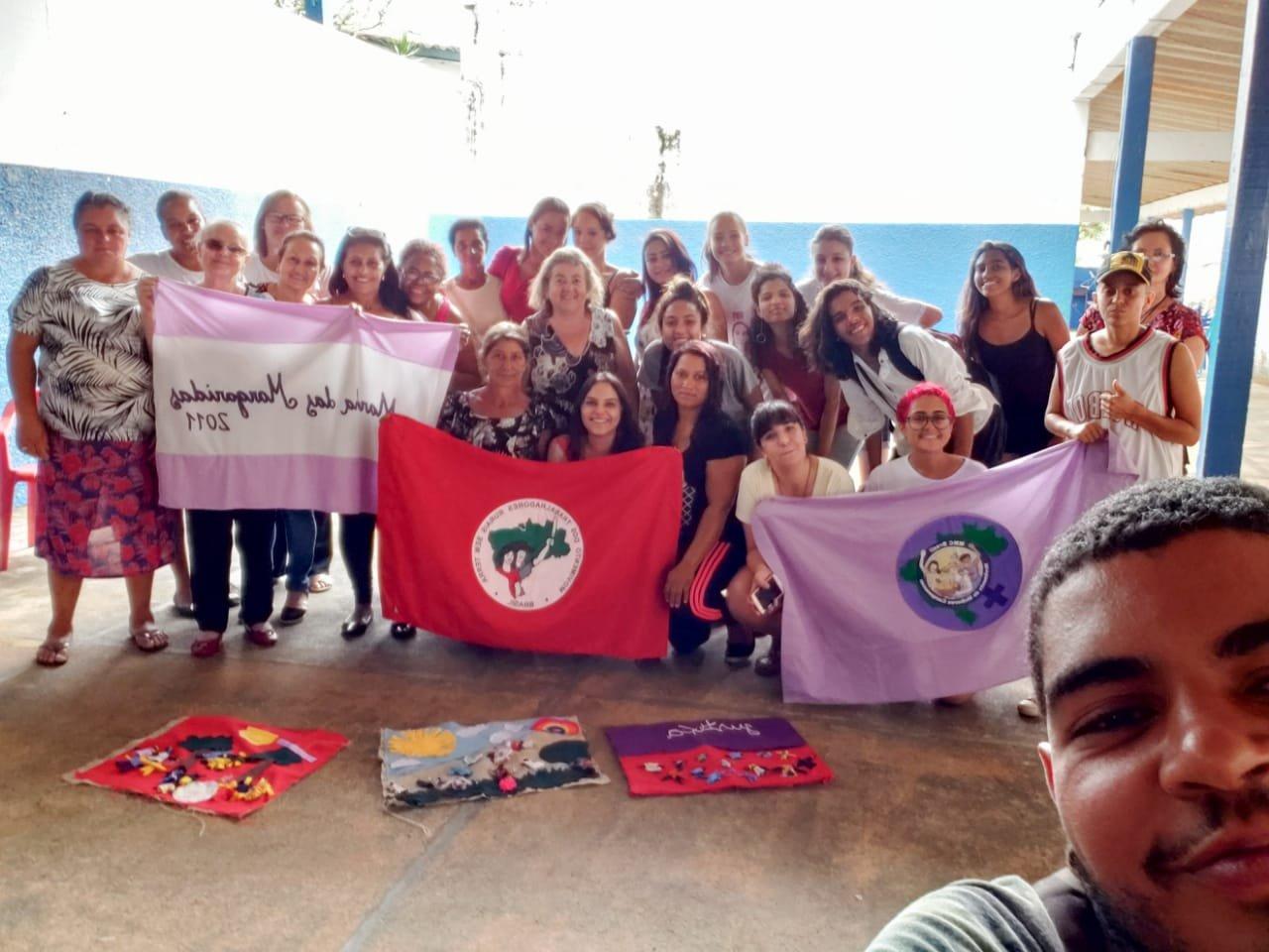 Sindicato das Domésticas de Franca participa do II Encontrão das Mulheres do Campo e da Cidade