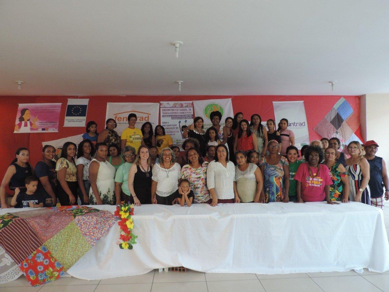 Sindicato dos Empregados Domésticos da Paraíba realiza Encontro Estadual de Trabalhadoras Domésticas