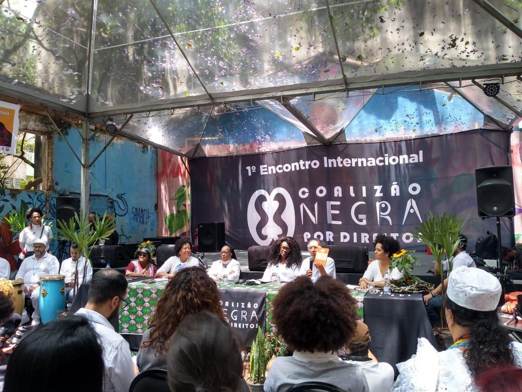 FENATRAD participa do I Encontro Internacional da Coalizão Negra Por Direitos