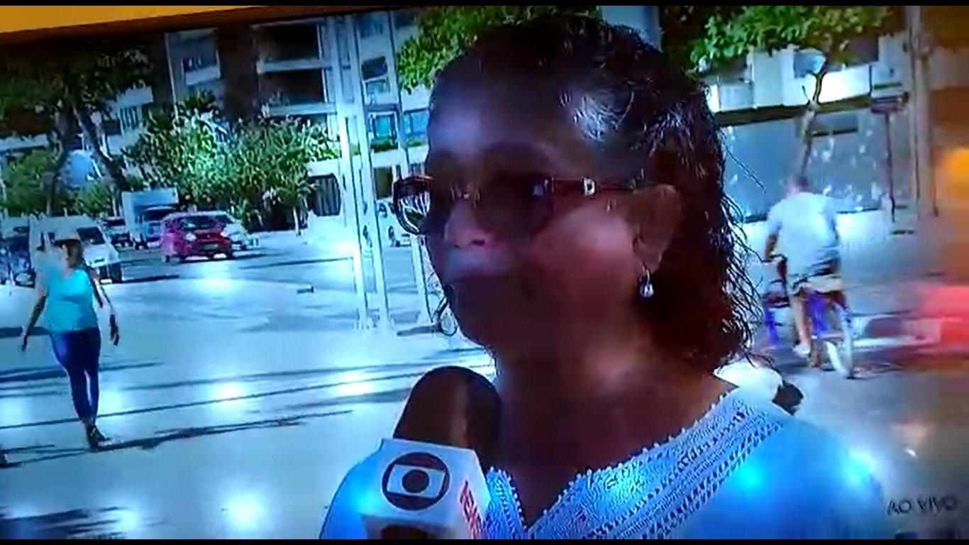 Luiza Batista concede entrevista à TV Globo Nordeste- O tema foi o fim da dedução do INSS no Imposto de Renda do Empregador de Trabalhadoras Domésticas