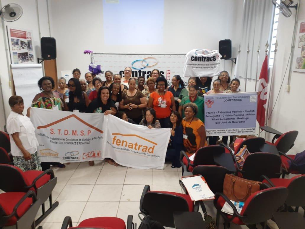Sindicatos de São Paulo realizam 42° Seminário Estadual de Trabalhadoras Domésticas
