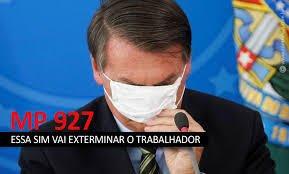 FENATRAD repudia MP 927/2020 que retira direitos dos trabalhadores brasileiros