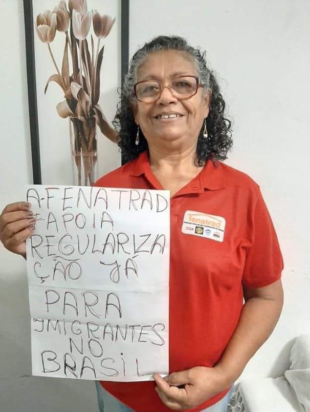 Fenatrad apoia a campanha pela regularização migratória no Brasil