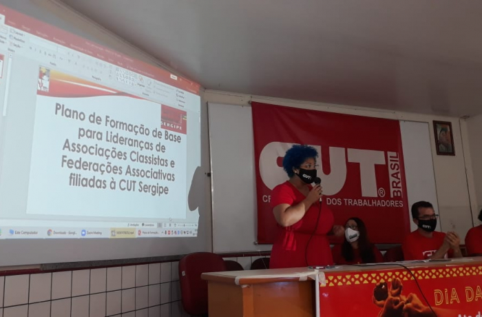 SINDOMÉSTICA/SE participa de Live da CUT de formação para lideranças sindicais