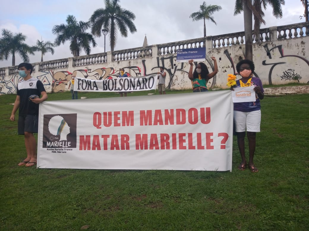FENATRAD participa de ato pelos três anos de morte da vereadora Marielle Franco
