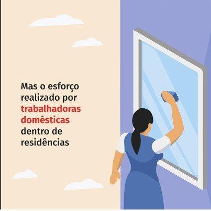FENATRAD e THEMIS alertam sobre o esforço físico das trabalhadoras domésticas nas tarefas do dia a dia