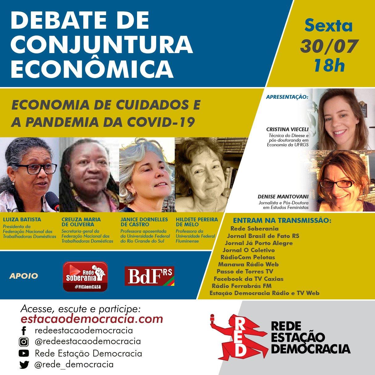 FENATRAD e entidades realizam Ciclo de Diálogo em homenagem aos 100 anos de Paulo Freire