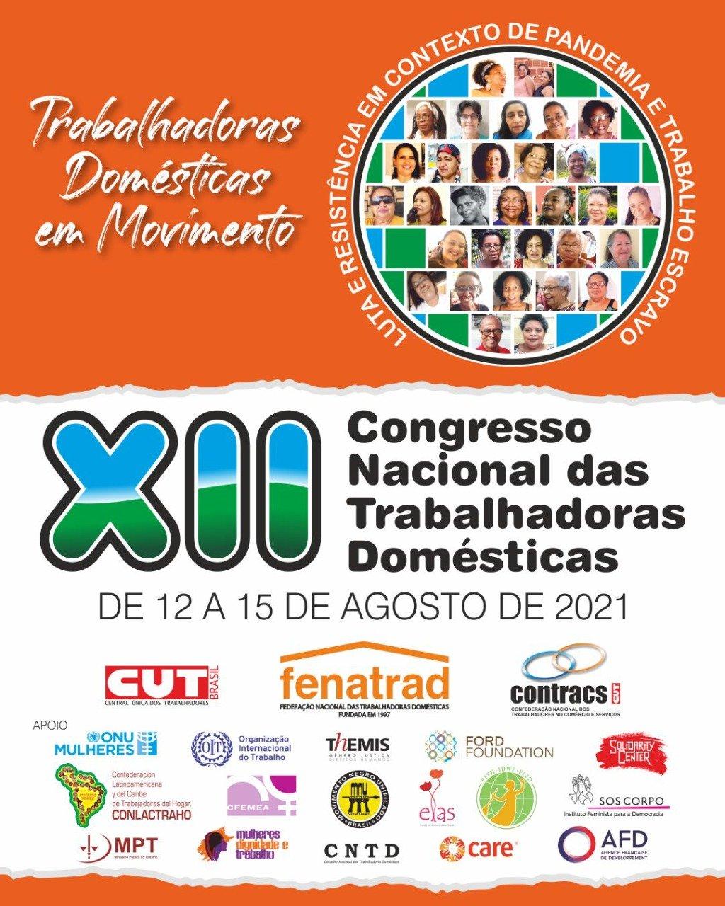 FENATRAD realiza XII Congresso Nacional das Trabalhadoras Domésticas em agosto