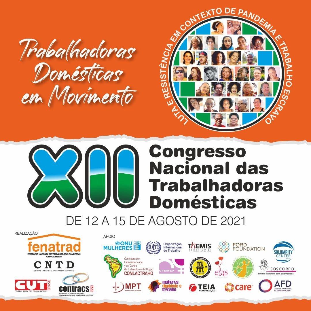 FENATRAD divulga programação do XII Congresso Nacional das Trabalhadoras Domésticas